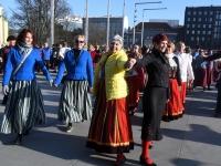 012 Rahvusvaheline tantsupäev Tallinnas. Foto: Urmas Saard