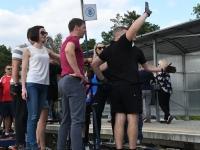 013 Relsiralli 2019 lõpetamine Pärnu Papiniidu jaamas. Foto: Urmas Saard