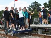 016 Relsiralli 2019 lõpetamine Pärnu Papiniidu jaamas. Foto: Urmas Saard