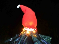 009 Renna jõulupuu installatsioon. Foto: Urmas Saard