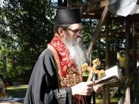 012 Rist Sindi kiriku sammaskojale. Foto: Urmas Saard