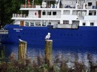 014 Ristluslaev Hebridean Sky Pärnu kesklinna kai ääres. Foto Urmas Saard