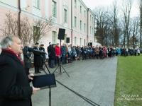 002 Sada aastat Eesti riigilipu heiskamisest Pika Hermanni torni. Foto: Peeter Hütt