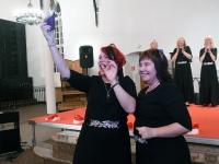 032 Šal-lal-laa 10. sünnipäeva kontserdil Tori kirikus. Foto: Urmas Saard