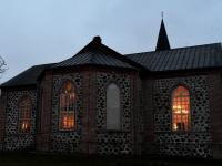 066 Šal-lal-laa 10. sünnipäeva kontserdil Tori kirikus. Foto: Urmas Saard