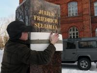 016 Seljamaa allkiri graniidil. Foto: Urmas Saard