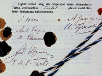 017 Seljamaa allkiri graniidil. Foto: Urmas Saard