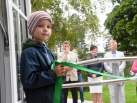 004 Seljametsa lasteaia avamise päeval. Foto: Urmas Saard