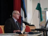 009 Rein Koch, seminar Tartu rahulepingu sõlmimise 100. aastapäeva raames Pärnus. Foto: Urmas Saard