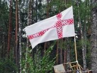 004 Seto Kuningriigi päeva sõjväe paraad. Foto: Urmas Saard
