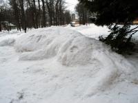 003 Sindi gümnaasiumi lumelinna päev 2011. a 3. veebruaril.  Foto: Urmas Saard