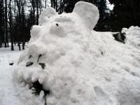 006 Sindi gümnaasiumi lumelinna päev 2011. a 3. veebruaril.  Foto: Urmas Saard