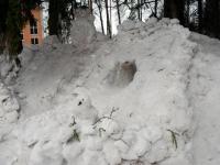 007 Sindi gümnaasiumi lumelinna päev 2011. a 3. veebruaril.  Foto: Urmas Saard