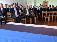 007 Sindi gümnaasiumi õpilaskonverents Eesti lipp 135. Foto: Urmas Saard