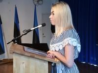 012 Sindi gümnaasiumi õpilaskonverents Eesti lipp 135. Foto: Urmas Saard