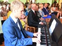 013 Sindi gümnaasiumi põhikooliastme lõpetajate aktus 2019. Foto: Urmas Saard