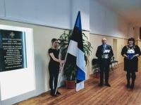 001 Sindi gümnaasiumis mälestatakse Vabadussõjas langenuid. Foto: Maris Voltein
