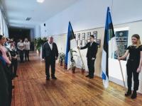 002 Sindi gümnaasiumis mälestatakse Vabadussõjas langenuid. Foto: Maris Voltein