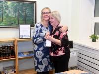 017 Sindi käsitööringi 60. tegevusaasta näitus linnaraamatukogus. Foto: Urmas Saard