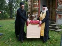 010 Sindi kiriku kellatorni kupli ja risti paigaldamine. Foto: Urmas Saard