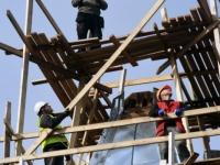 038 Sindi kiriku kellatorni kupli ja risti paigaldamine. Foto: Urmas Saard