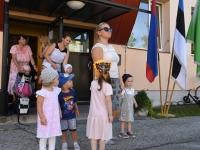 002 Sindi lasteaed õppeaasta esimesel tööpäeval. Foto: Urmas Saard