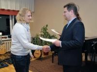 010 Sindi linnavalitsus tänab muusikakooli. Foto: Urmas Saard