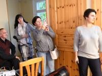 009 Sindi naisliidu pidu sotsiaaltöökeskuses. Foto: Urmas Saard