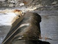 007 Sindi paisu lammutus on alanud. Foto: Urmas Saard