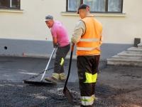 009 Sindi tervisekeskuse esise asfalteerimine