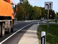 010 Sindit läbiv Pärnu ja Tori vaheline uunedatud teelõik. Foto: Urmas Saard