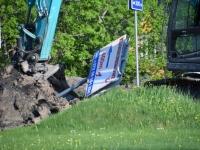 003 Sindit läbiva Pärnu-Tori maantee ehitus. Foto: Urmas Saard