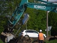 004 Sindit läbiva Pärnu-Tori maantee ehitus. Foto: Urmas Saard