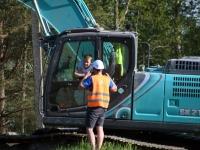 006 Sindit läbiva Pärnu-Tori maantee ehitus. Foto: Urmas Saard