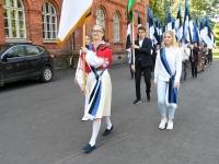 002 Sinimustvalge lipu 135. aastapäev. Foto: Urmas Saard