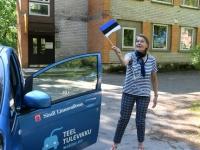 005 Sinimustvalge lipu 135. aastapäev. Foto: Urmas Saard