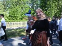008 Sinimustvalge lipu 135. aastapäev. Foto: Urmas Saard