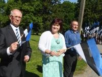 016 Sinimustvalge lipu 135. aastapäev. Foto: Urmas Saard