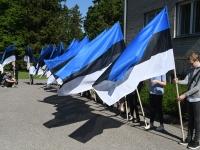 020 Sinimustvalge lipu 135. aastapäev. Foto: Urmas Saard
