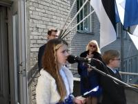 031 Sinimustvalge lipu 135. aastapäev. Foto: Urmas Saard