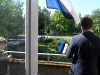 035 Sinimustvalge lipu 135. aastapäev. Foto: Urmas Saard