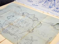 002 Sinised tikandid Sindi näitusel. Foto: Urmas Saard