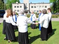 003 Södertälje kultuurikeskuse seeniortantsijad Sindis. Foto: Urmas Saard