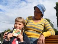 009 Nomi ja vanaema Liivia. Foto: Urmas Saard