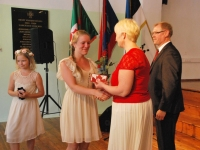 008 Tänupäeval tunnustab Sindi gümnaasium parimaid õpilasi. Foto: Urmas Saard