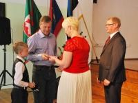 009 Tänupäeval tunnustab Sindi gümnaasium parimaid õpilasi. Foto: Urmas Saard