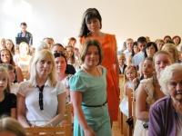 013 Tänupäeval tunnustab Sindi gümnaasium parimaid õpilasi. Foto: Urmas Saard