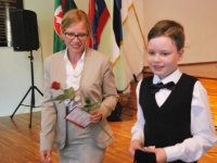 018 Tänupäeval tunnustab Sindi gümnaasium parimaid õpilasi. Foto: Urmas Saard