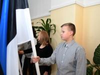 001 Tartu rahu 98. aastapäevale pühendatud konverents Sindi gümnaasiumis. Foto: Urmas Saard