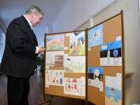 004 Tartu rahu 98. aastapäevale pühendatud konverents Sindi gümnaasiumis. Foto: Urmas Saard